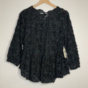 altar'd state | black lace top